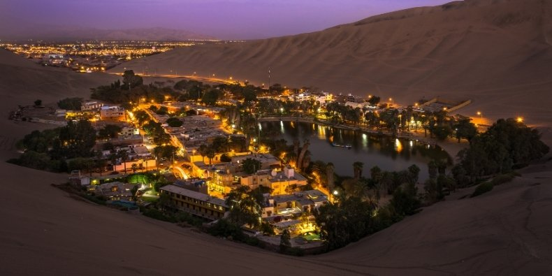 hotels in huacachina